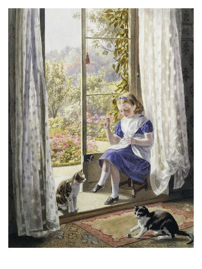 A Summer Afternoon-Helena J^ Maguire-Premium Giclee Print