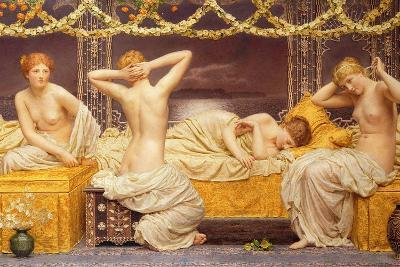 A Summer Night, 1890-Albert Joseph Moore-Giclee Print