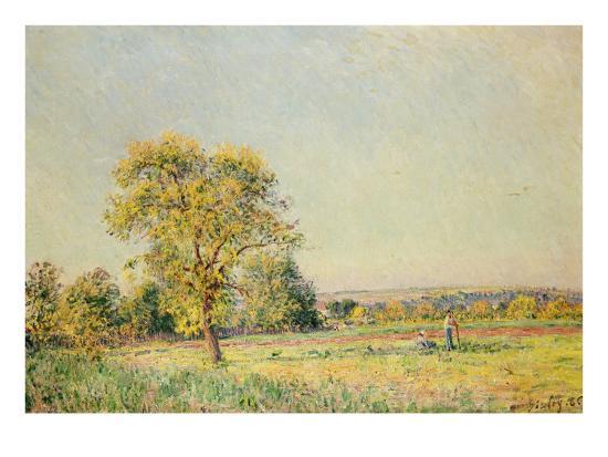 A Summer's Day, 1886-Alfred Sisley-Giclee Print