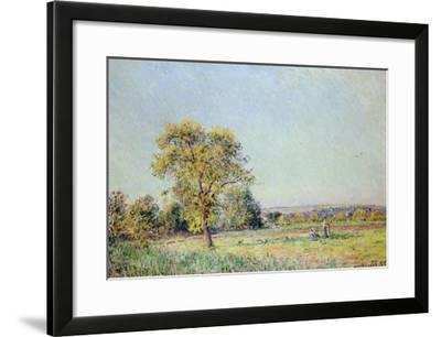A Summer's Day-Alfred Sisley-Framed Giclee Print