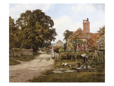 A Summer's Day-Edward Wilkins Waite-Giclee Print