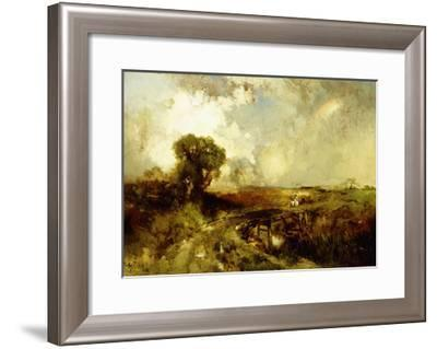 A Summer Shower, 1878-Thomas Moran-Framed Giclee Print