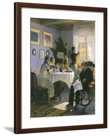A Sunday Afternoon, 1888-Carl Thomsen-Framed Giclee Print