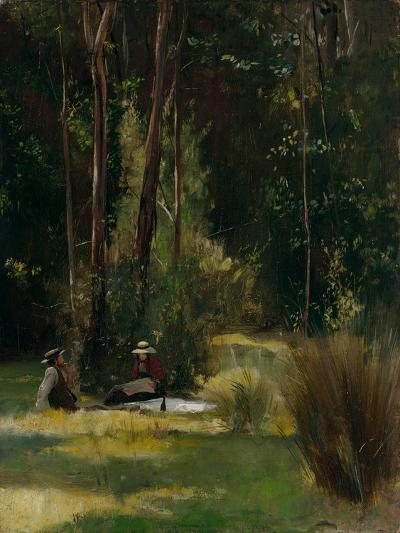A Sunday Afternoon, C.1886-Thomas William Roberts-Giclee Print