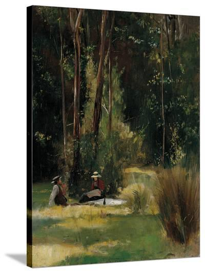 A Sunday Afternoon-Tom Roberts-Stretched Canvas Print