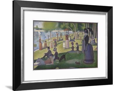 A Sunday on La Grande Jatte, 1884-86-Georges Pierre Seurat-Framed Giclee Print