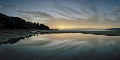 A Sunrise at Ohki Beach That Resembles a Rorschach Test-Macduff Everton-Photographic Print