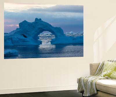 A Sunset over Grandidier Channel, Antarctica-Ralph Lee Hopkins-Wall Mural