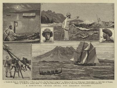 A Surveying Cruise Among the Solomon Islands-Joseph Nash-Giclee Print