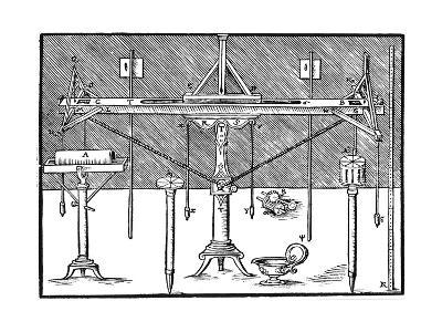 A Surveyor's Level, 1547--Giclee Print
