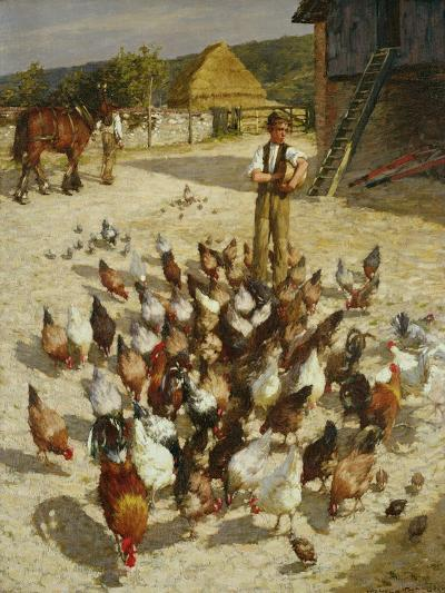 A Sussex Farm, 1887-Henry Herbert La Thangue-Giclee Print