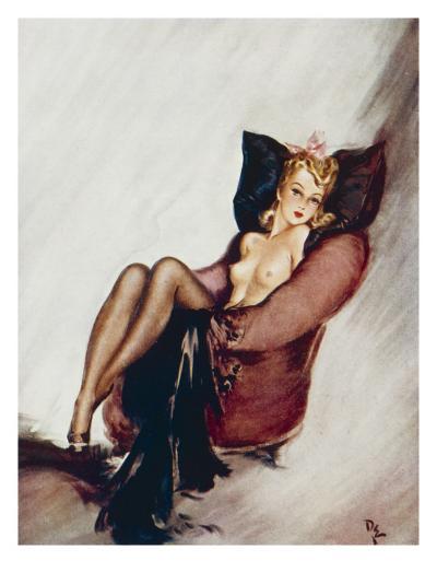 A Sweet Little Trick-David Wright-Giclee Print