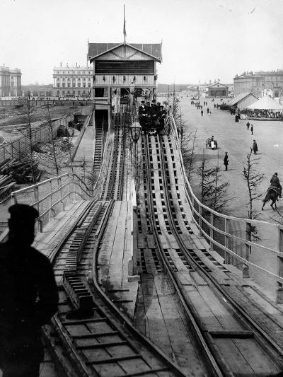 A Switchback Ride, St Petersburg, Early C20th--Photographic Print