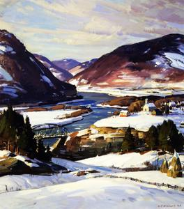 The First Snow by A.T. Hibbard