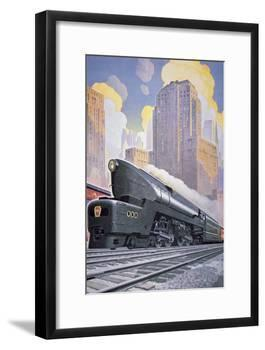 A T1 Locomotive, 1946-null-Framed Giclee Print