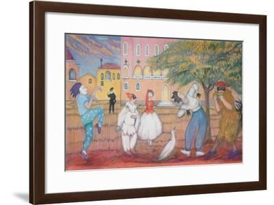 A tale full of sound and fury 2-Silvia Pastore-Framed Giclee Print
