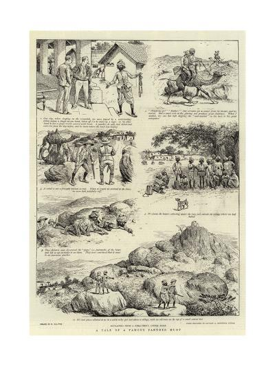 A Tale of a Famous Panther Hunt-William Ralston-Giclee Print