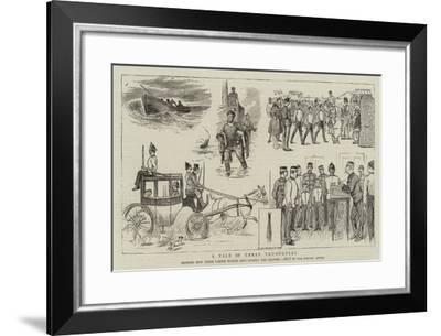 A Tale of Three Trumpeters--Framed Giclee Print