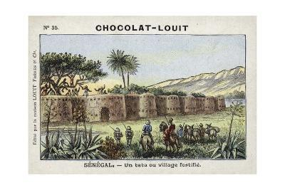 A Tata, or Fortified Village, Senegal--Giclee Print