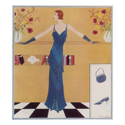 A Tatler Fashion by Gordon Conway--Giclee Print