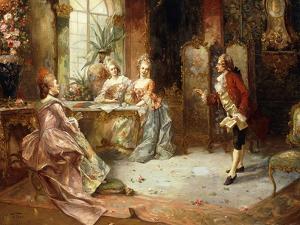 Marie Antoinette's History Lesson by A. Telser