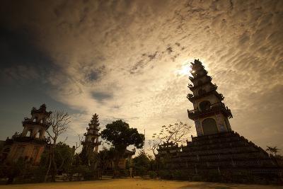 A Temple Near Hoi An-Alex Saberi-Photographic Print