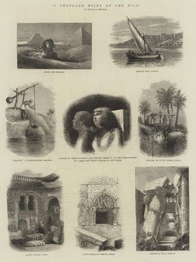 A Thousand Miles Up the Nile--Giclee Print