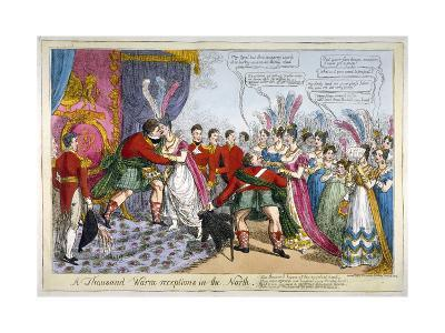 A Thousand Warm Receptions in the North, 1823--Giclee Print