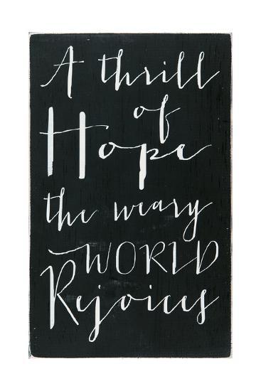 A Thrill of Hope-Erin Deranja-Art Print