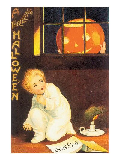 A Thrilling Halloween--Art Print