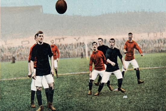 A Throw in from the Touch Line, from B.B. London's Series No.E41--Giclee Print