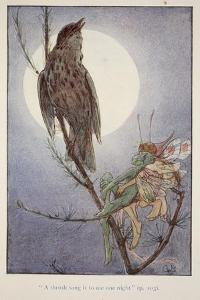 'A Thrush Sang it to Me', from Brownies and Other Tales by Julia Hortia Ewing, Woodward, Alice B…