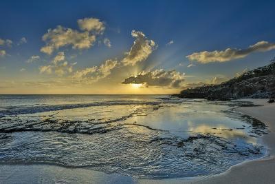 A Tidal Shelf on Kawakiu Nui Beach on Molokai's West End-Richard A^ Cooke-Photographic Print