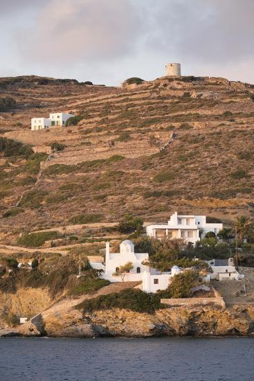 A Tiny Village on the Cycladic Island of Amorgos in Greece-Krista Rossow-Photographic Print