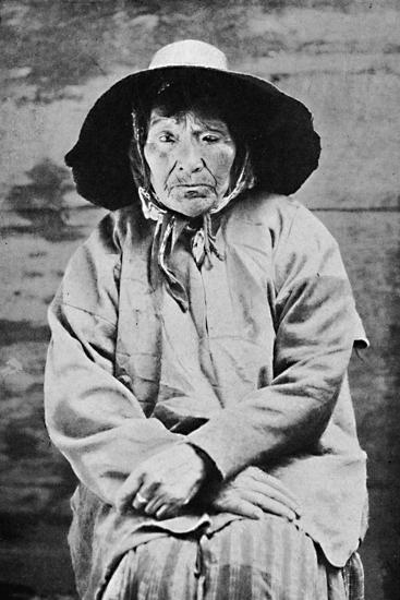 A Tlingit woman of Alaska, 1912-Unknown-Photographic Print