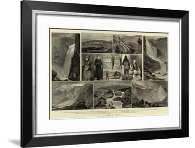 A Tour in Norway-Joseph Nash-Framed Giclee Print