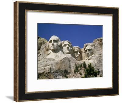 A Tourists Eye View of Mount Rushmore National Monument-Paul Damien-Framed Photographic Print