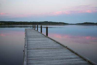 A Tranquil Evening on the Dock-Robbie George-Photographic Print