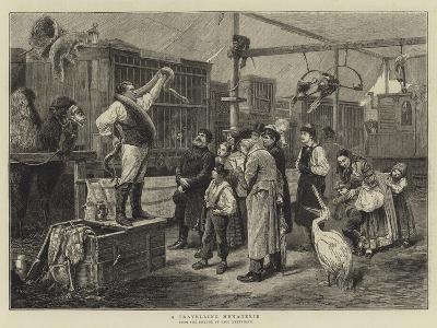 A Travelling Menagerie-Paul Friedrich Meyerheim-Giclee Print