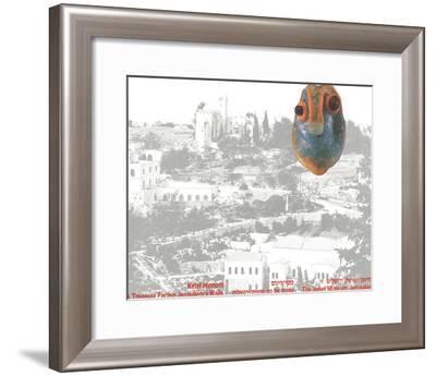 A Treasure Facing Jerusalem's Walls-Ketef Hinnom-Framed Premium Edition