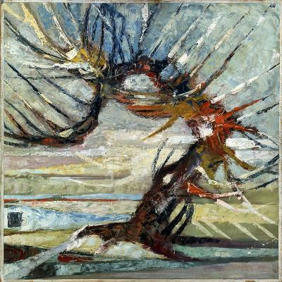A Tree, Early 20th Century-Otto Mueller-Giclee Print