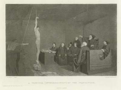A Tribunal--Giclee Print