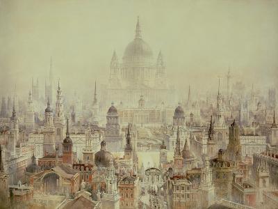 A Tribute to Sir Christopher Wren-Charles Robert Cockerell-Giclee Print