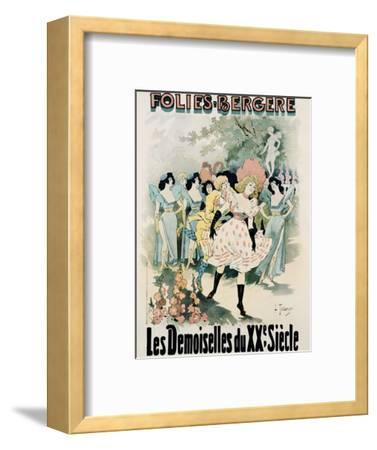 Folies-Bergere: Les Demoiselles Du Vingtieme Siecle Poster