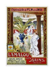 Lamalou Les Bains by A. Trinquier-Trianon