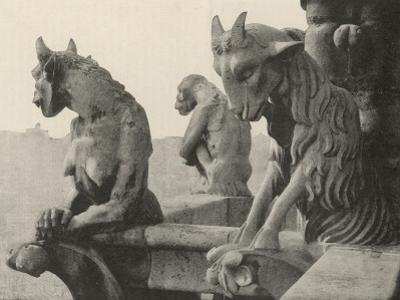 A Trio of Gargoyles