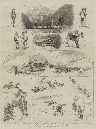 A Trip Through the Zillerthal--Giclee Print