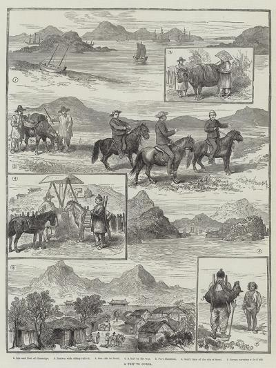 A Trip to Corea--Giclee Print