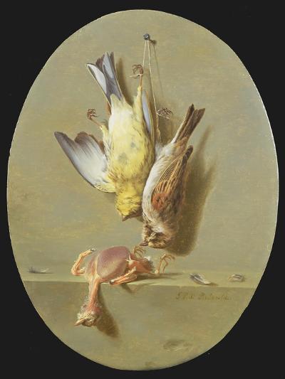 A Trompe L'Oeil of Dead Songbirds-Jean Joseph Xavier Bidauld-Giclee Print