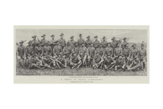 A Troop of Natal Carbineers--Giclee Print